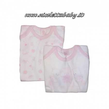 Bi-pack Body M/M cotone Nazareno Gabrielli