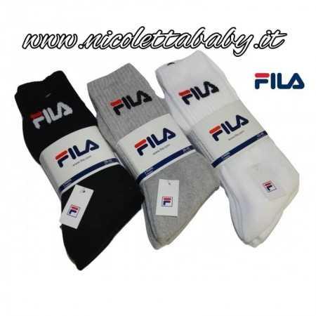 3 Paia Calzini Lunghi F9505 Fila