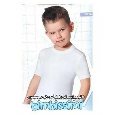 T-shirt  MM Caldo Cotone Girocollo TM310R Bimbissimi
